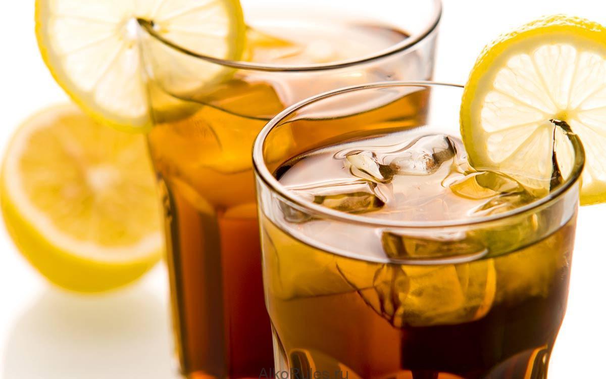 Рецепты с использованием чая. Американский чай-лимонад.