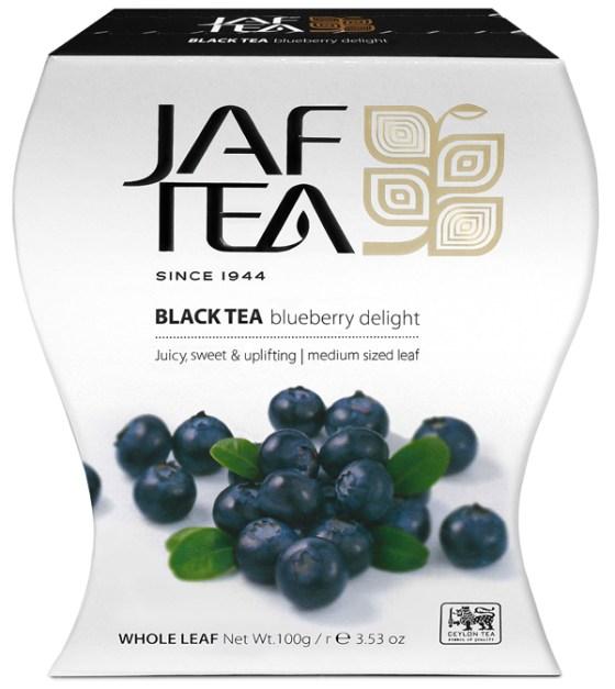 """JAFTEA черный чай """"Черничный восторг"""" (Bluberry Delight) 100g"""