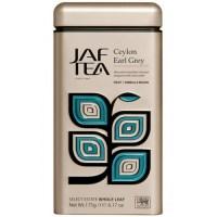 "JAFTEA (Джаф Ти)  черный чай ""Цейлон Седой Граф"" (Ceylon Earl Grey) жестяная банка 175g"