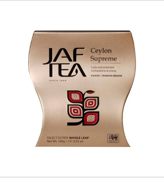 "JAFTEA черный чай ""Цейлон Суприм"" (Ceylon Supreme) 100g"