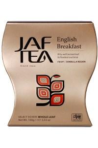 "JAFTEA (Джаф Ти)  черный чай ""Английский завтрак"" (English Breakfast) 100g"
