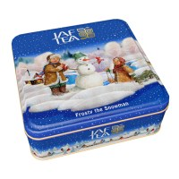 "JAFTEA (Джаф Ти)  черный чай ""Морозный снеговик"" (Frosty the Snowman) OPA+FBOP жестяная банка 80g"