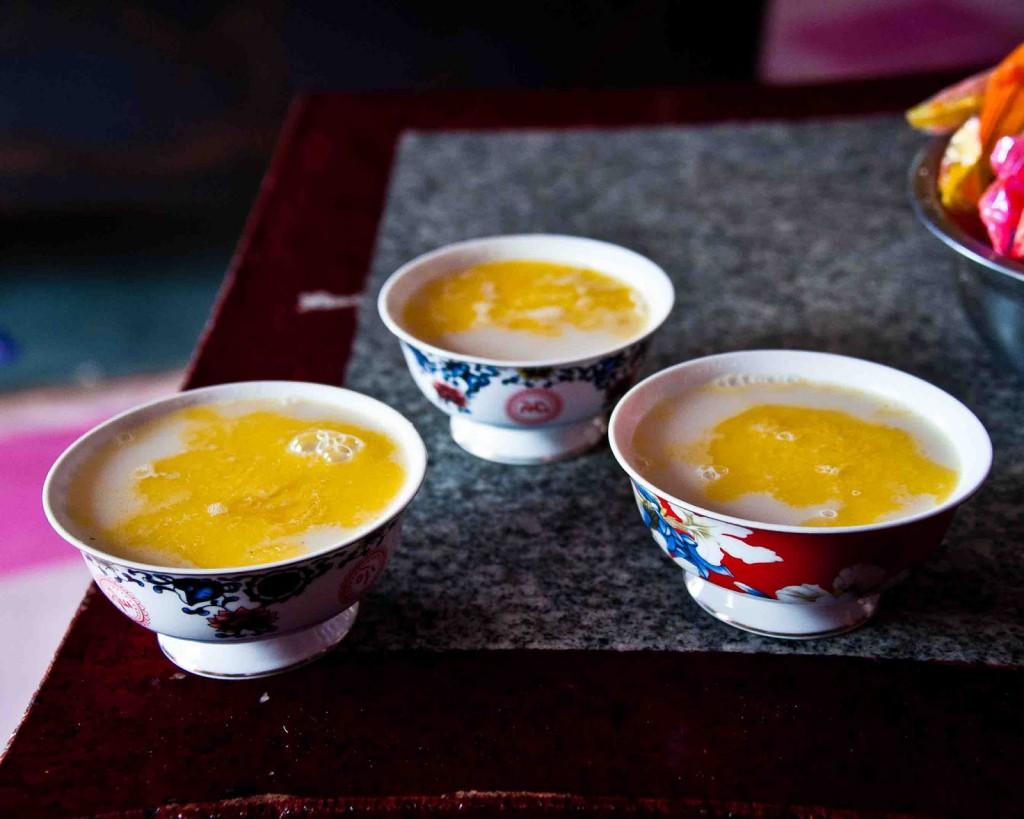 Рецепты с использованием чая. Монгольский чай (вариант 3)