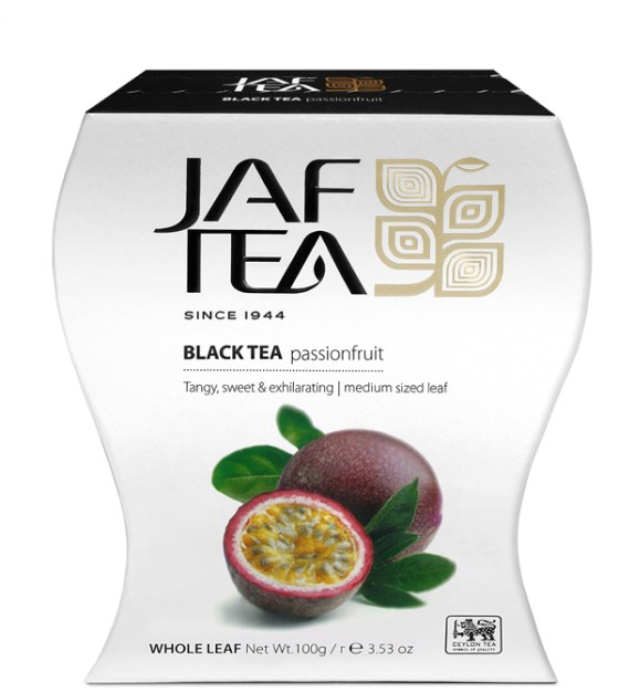 "JAFTEA (Джаф Ти)  черный чай ""Плод страсти"" (Passion Fruit) 100g"
