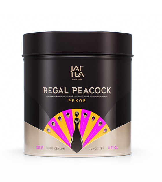 "JAFTEA (Джаф Ти)  черный чай ""Пеко"" (Pekoe) Pekoe жестяная банка 250g"