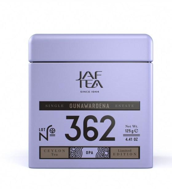 """JAFTEA (Джаф Ти)  черный чай №362 """"ГУНАВАРДЕНА"""" (GUNAWARDENA) OPA жестяная банка 70g"""