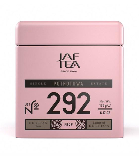 """JAFTEA (Джаф Ти)  черный чай №292 """"ПОТОТУВА"""" (Pothotuwa) FBOP жестяная банка 175g"""