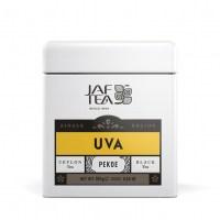 "JAFTEA (Джаф Ти)  черный чай ""УВА"" (Uva) Pekoe жестяная банка 100g"