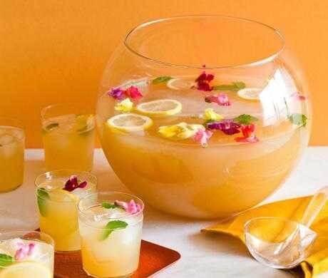 Рецепты с использованием чая. Цейлонский чайно-ананасовый пунш (около 30 порций по 100 г)