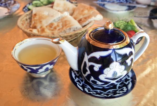 Рецепты с использованием чая. Узбекский «кок-чай».