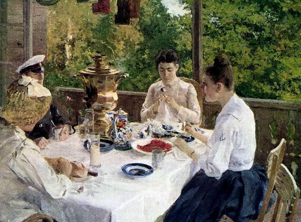 Чайный этикет. Традиционный русский чай.