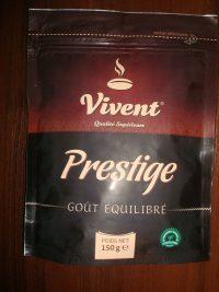 Vivent Prestige растворимый кофе , 150гр. , дой-пак с зип-замком