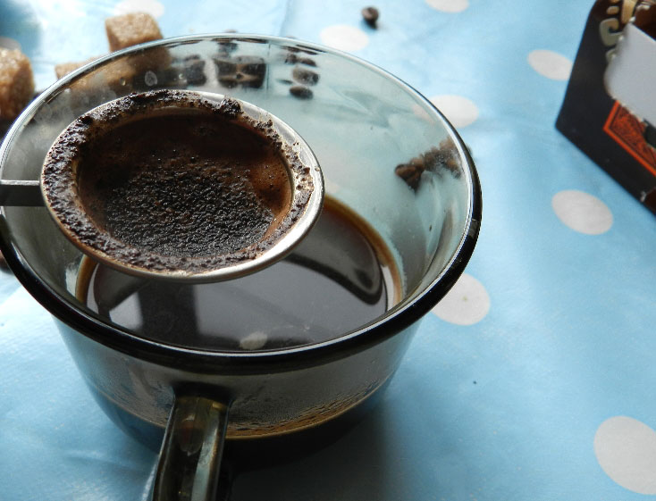 Приготовление кофе. Способы приготовления кофе.  Процеженный кофе