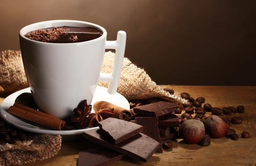 Приготовление кофе. Рецепты приготовления кофе с другими добавками. Кофе с шоколадом.