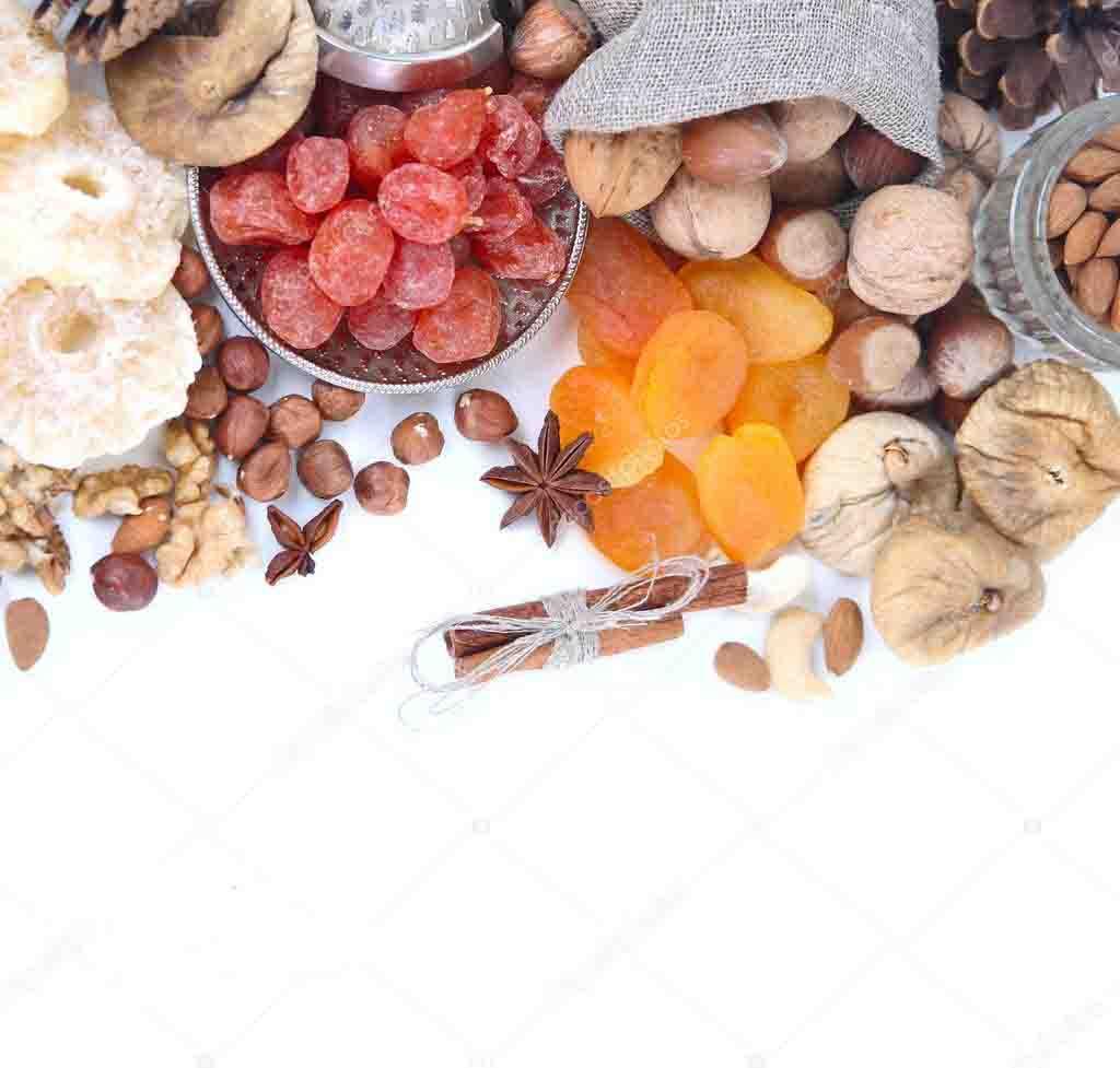 Кофейный этикет. Добавки к кофе. Фрукты, орехи и специи.
