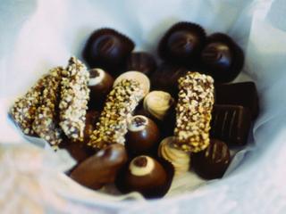 Десерты к кофе. Грильяж шоколадный.