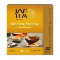 """JAFTEA (Джаф Ти) черный чай """"Золотой Цейлон"""" (Golden Ceylon) 100 пакетиков по 1,5 гр."""