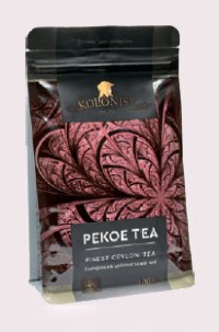 KOLONIST черный чай PEKOE 100g