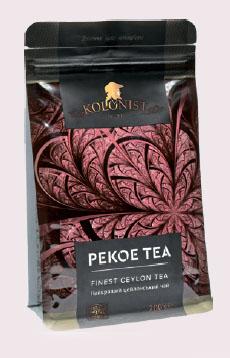 KOLONIST черный чай PEKOE 200g