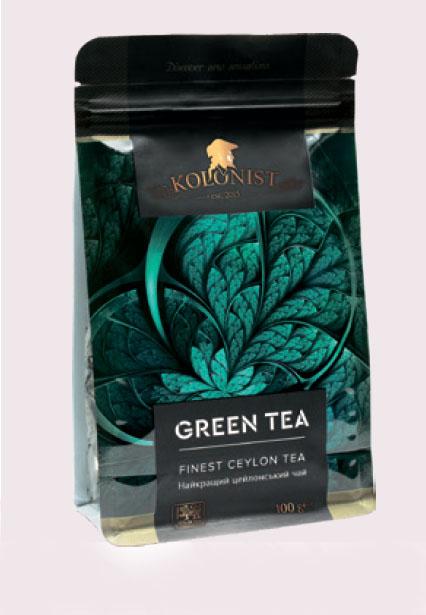 KOLONIST зелёный чай Gun Powder 100g