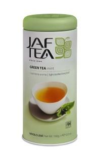 "JAFTEA (Джаф Ти) зеленый чай ""Мята"" (Green Mint) жестяная банка 100g"