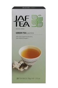 "JAFTEA (Джаф Ти) зеленый чай ""Жасмин"" (Jasmine) 25 пакетиков по 2гр"