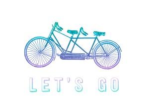 let's go tandem bike