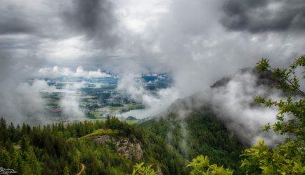Falkenstein im Nebel