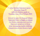 Bifurcation of Realities: Solstice Entry to the Eclipse Gateway