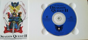 dragon quest 2 cd theater disc sticker