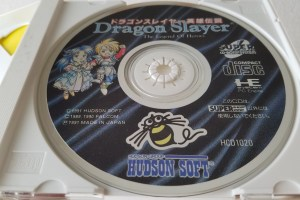 Dragon Slayer: The Legend of Heroes disc