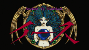 Ys II start screen