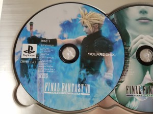 Final Fantasy VII International Advent Pieces Limited disc 1