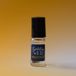 MEDITATE Essential Oil Blend | Golden Blue