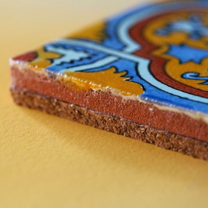 Mexican Tile | Golden Blue