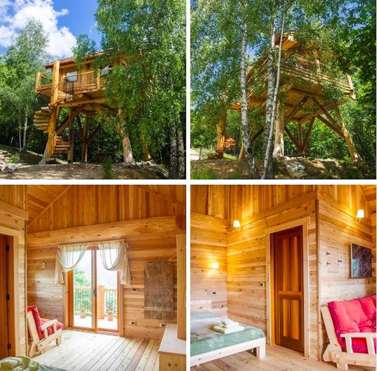 Casa Sullalbero Per Vivere Una Vacanza Avventurosa Dove In