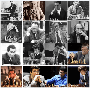 Learning from Chess Champions and World Chess Championships