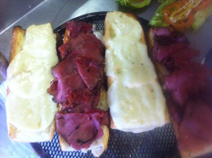 Pastrami and Provolone 10Inch