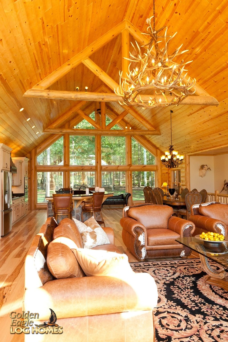 Golden Eagle Log And Timber Homes Log Home Cabin Pictures Photos Lakehouse Ranch