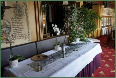 Cafe - Tafel für Hochzeit oder Hochzeitstag eingerichtet 30 PAX (15)