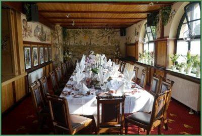 Cafe - Tafel für Hochzeit oder Hochzeitstag eingerichtet 30 PAX (2)