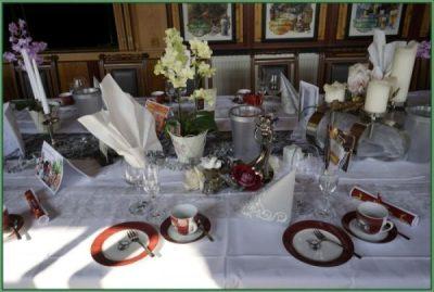 Cafe - Tafel für Hochzeit oder Hochzeitstag eingerichtet 30 PAX (9)