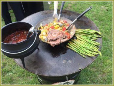Catering mit unserer BarellQ (1)