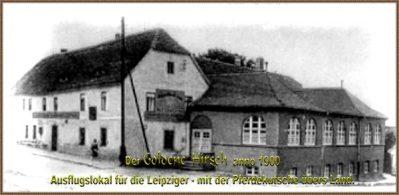 Goldener Hirsch um 1900 (1)