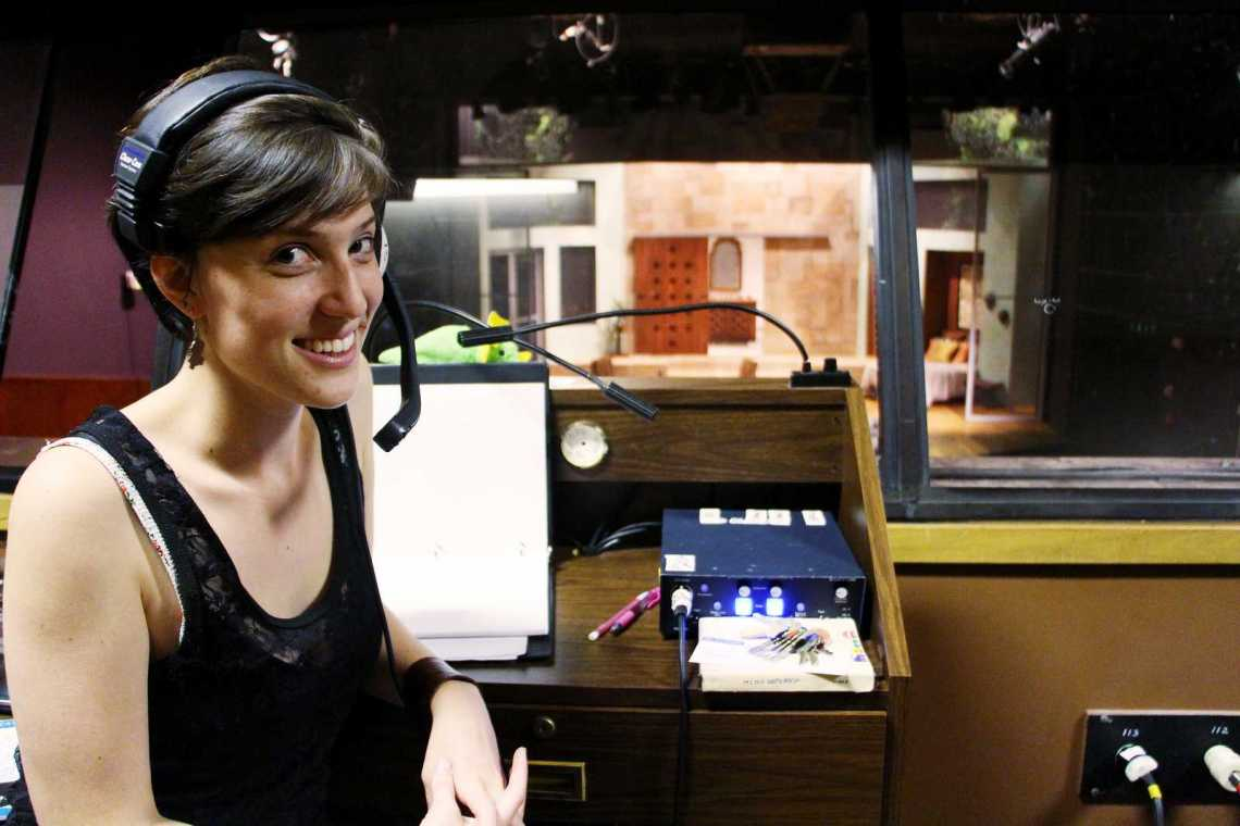 Maggie Manzano, a theatre major with an emphasis in stage management, is the stage manager for