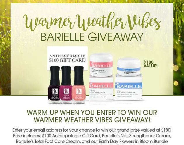 Warmer Weather Vibes Giveaway