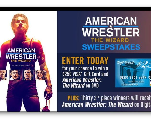 American Wrestler: The Wizard Sweepstakes