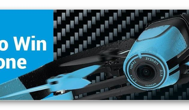 You can WIN A FREE Parrot Bebop From InterDrone