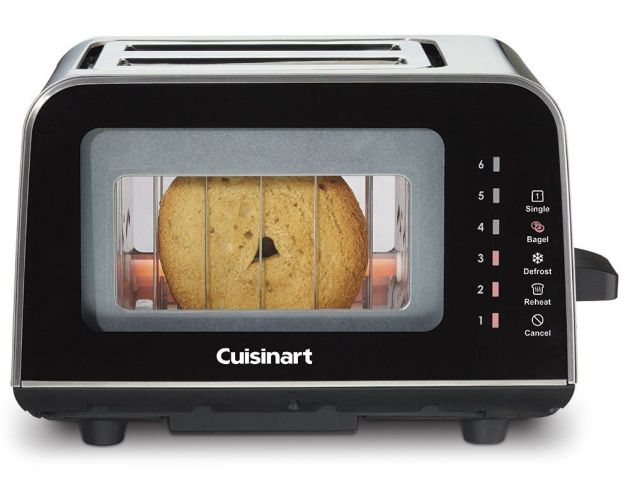 Win a Cuisinart ViewPro Glass 2-Slice Toaster