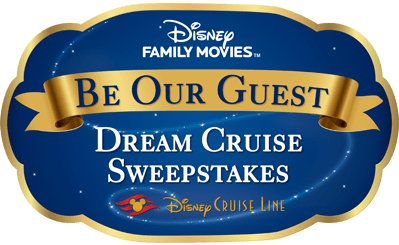 Disney Be our Guest Dream Cruise Sweepstakes